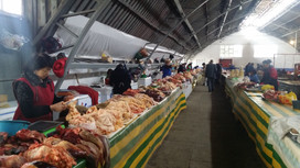 Market in Karakol, Kyrgyzstan