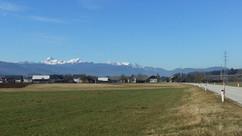 Towards the mountains, Slovenia