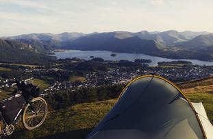 Camping over Keswick, Lake District