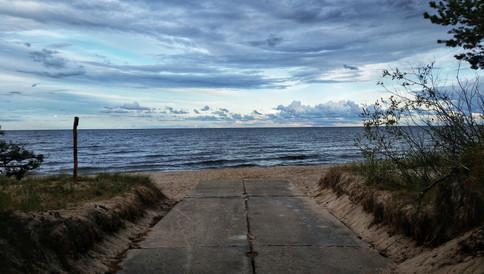 Near Cape Kolka, Latvia