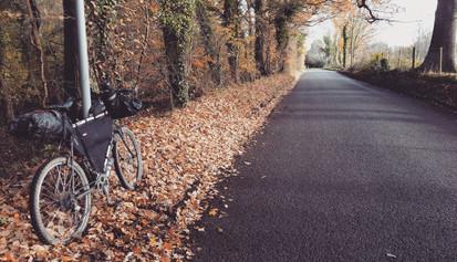 Autumn bikepacking in Surrey