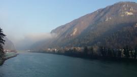 Cold mornings in Slovenia