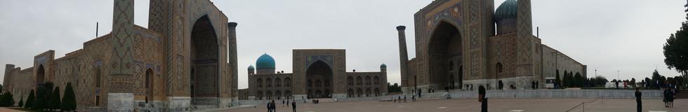 The Registan. Samarkand, Uzbekistan