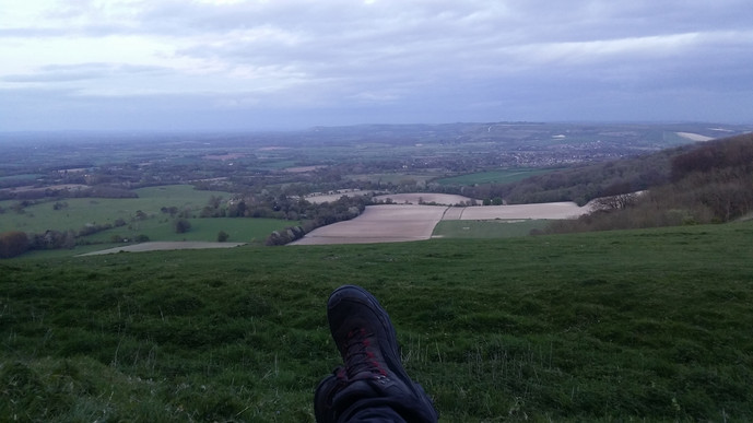 Over the South Downs