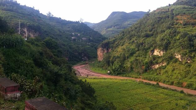 Entering the Himalayas, Yunnan