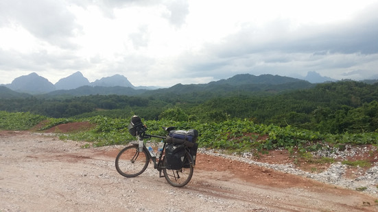 Yearning for the mountains, Laos