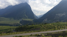 Overlooking Tiger Leaping Gorge, Yunnan