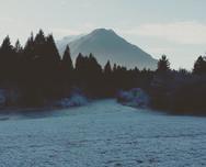 Frosty but beautiful, Slovenia