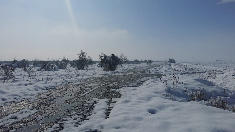 Freezing cold in Kazakhstan