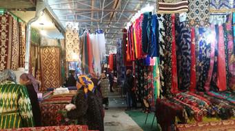Silk Road markets in Bukhara, Uzbekistan