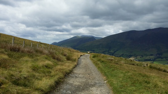The 'Old Coach Road', Lake District