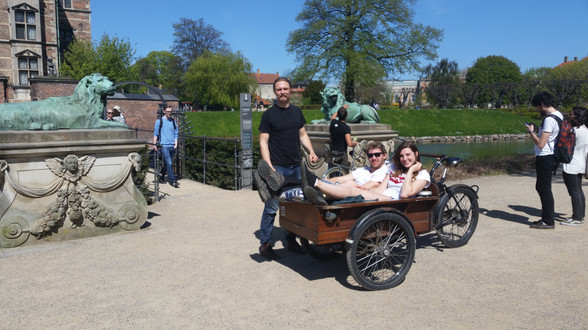 Thorbjorn, who hosted me in Copenhagen and chauffered me around in his bicycle cart