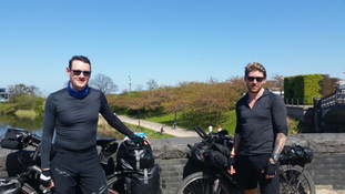 Haiku, another tour cyclist I met on the way into Copenhagen