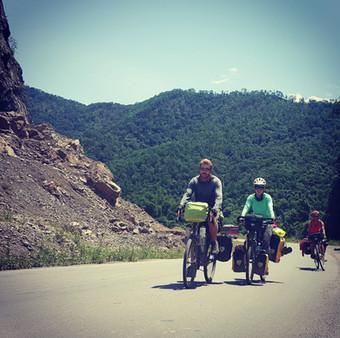 Bike friends, Yunnan