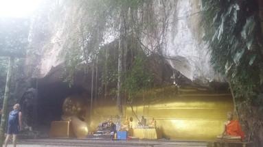 Reclining Buddha, southern Thailand
