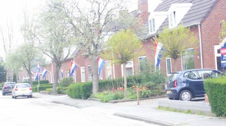 Patriotism on display in the Netherlands