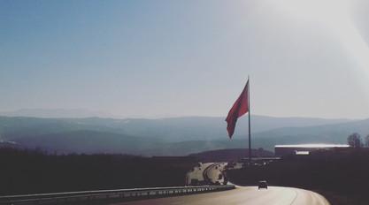 Entering the mountains, Turkey
