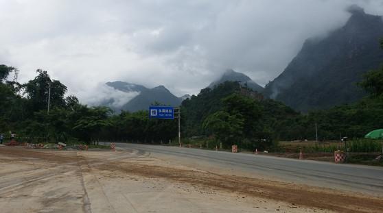 Ominous rainclouds ahead, Yunnan