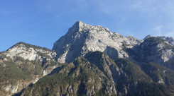 The Alps towering above, Austria
