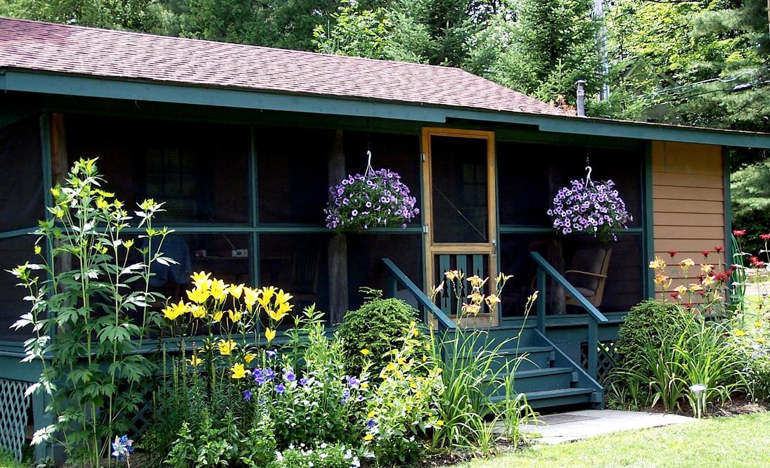 Outside Cottage 1