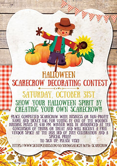 Copy of Scarecrow fall birthday party in