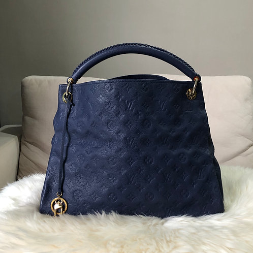 LOUIS VUITTON ARTSY MM IRIS BLUE EMPRINTE - BD0081