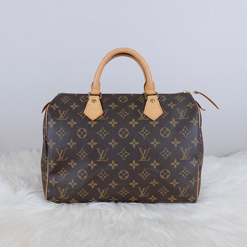 LOUIS VUITTON SPEEDY 30 MONOGRAM - TH0064