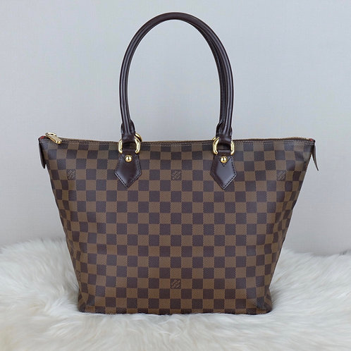 LOUIS VUITTON SALEYA MM DAMIER EBENE - FL2029