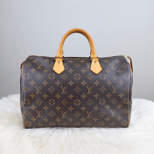 LOUIS VUITTON SPEEDY 35 MONOGRAM - BD0344