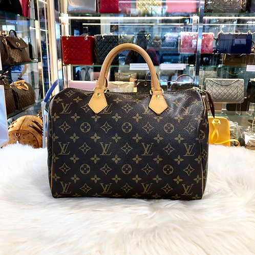 LOUIS VUITTON SPEEDY 30 MONOGRAM BD0060
