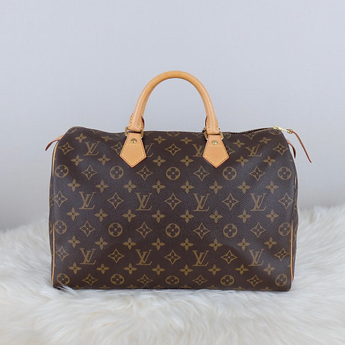 LOUIS VUITTON SPEEDY 35 MONOGRAM - SR0153