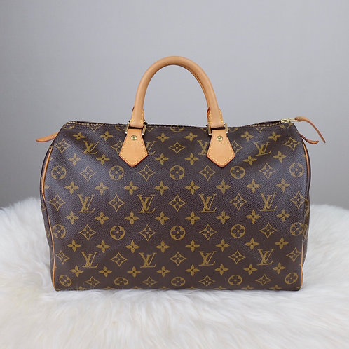LOUIS VUITTON SPEEDY 35 MONOGRAM  - TR0151