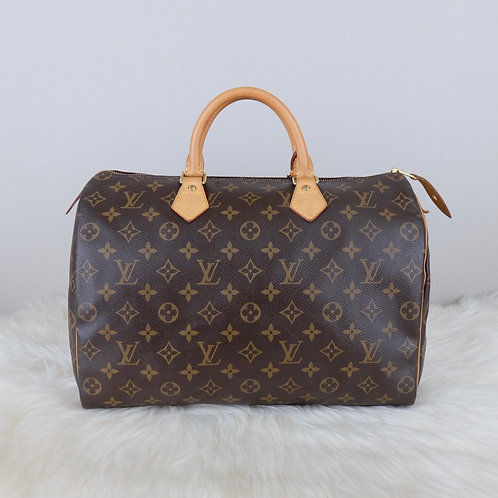 LOUIS VUITTON SPEEDY 35 MONOGRAM - RI2134
