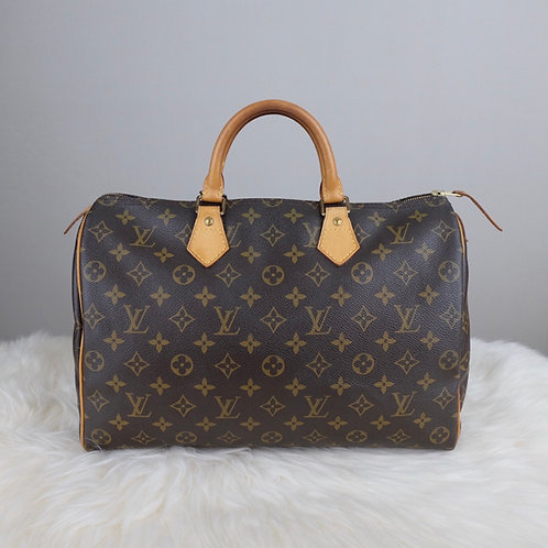 LOUIS VUITTON SPEEDY 35 MONOGRAM - BD0358