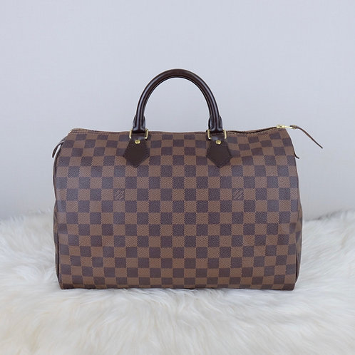 LOUIS VUITTON SPEEDY 35 DAMIER EBENE - SP2161