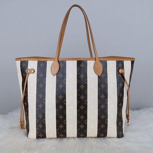 LOUIS VUITTON NEVERFULL GM RAYURES LIMITED EDITION - CA4101