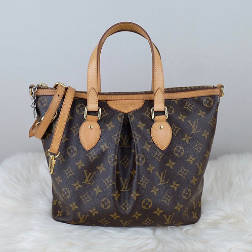 LOUIS VUITTON PALERMO PM MONOGRAM - TA2172