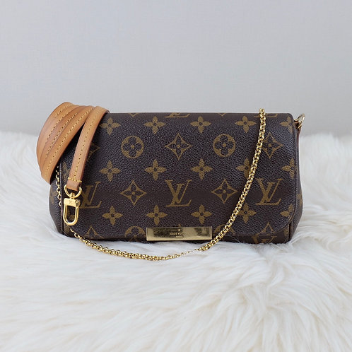 LOUIS VUITTON FAVORITE PM MONOGRAM  - SA2184