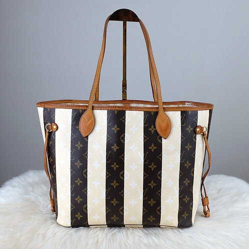 LOUIS VUITTON NEVERFULL MM RAYURES LIMITED EDITION - CA4131