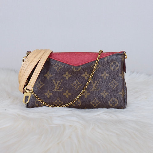 LOUIS VUITTON PALLAS CLUTCH CERISE MONOGRAM - GI0187