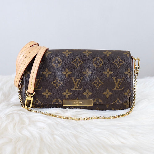 LOUIS VUITTON FAVORITE PM MONOGRAM - FL4135