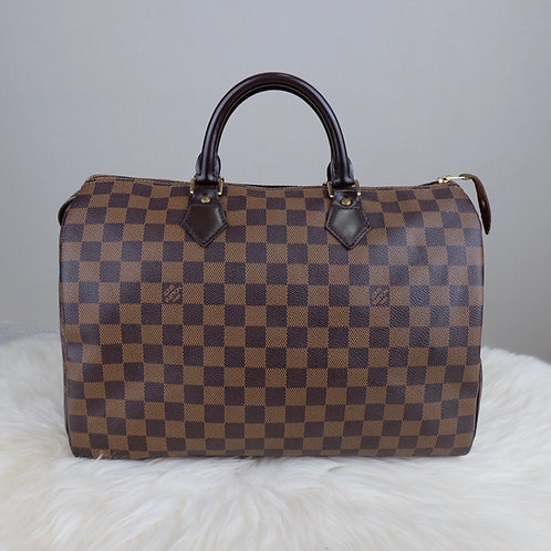 LOUIS VUITTON SPEEDY 35 DAMIER EBENE - BD0311