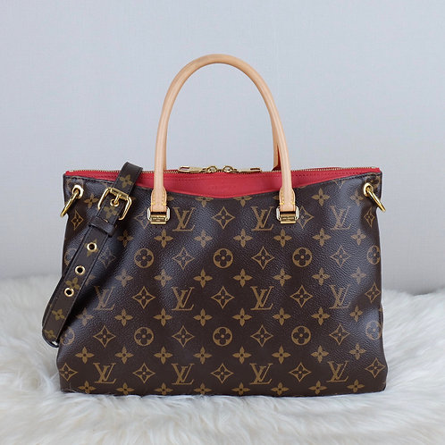 LOUIS VUITTON PALLAS MM CERISE MONOGRAM  - CA5104