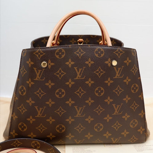 LOUIS VUITTON MONTAIGNE MM MONOGRAM TR4134