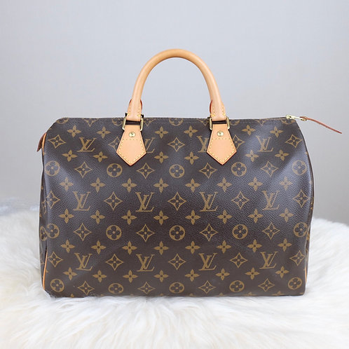 LOUIS VUITTON SPEEDY 35 MONOGRAM - BD0312