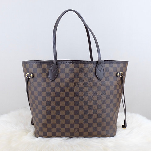 LOUIS VUITTON NEVERFULL MM DAMIER EBENE - SP2049