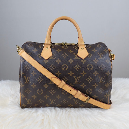 LOUIS VUITTON SPEEDY 30 BANDOULIERE MONOGRAM - AA4112