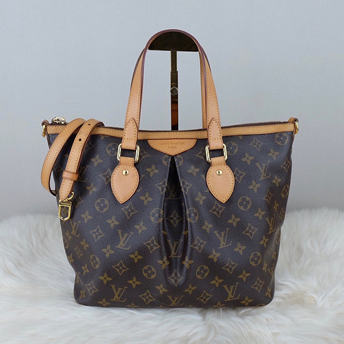 LOUIS VUITTON PALERMO PM MONOGRAM - SR4112