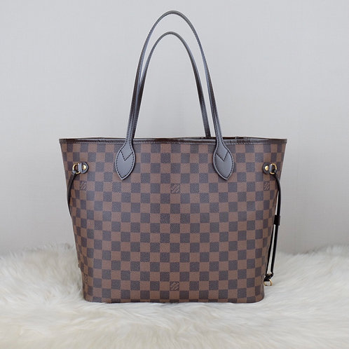 LOUIS VUITTON NEVERFULL MM DAMIER EBENE - GI4173
