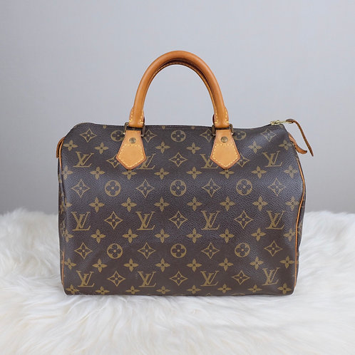 LOUIS VUITTON SPEEDY 30 MONOGRAM - BD0356